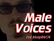 Male Voices - MorphVOX Add-on screenshot